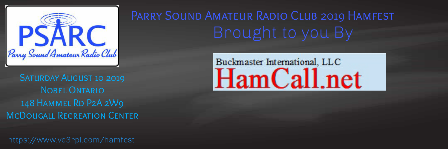 Parry Sound Amateur Radio Club